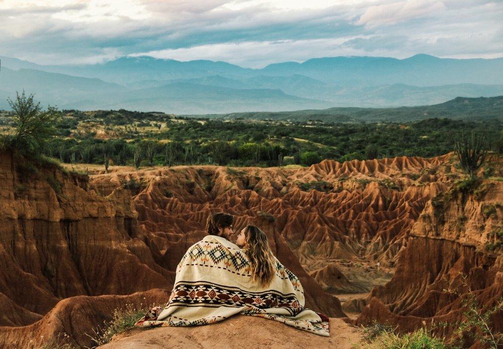 Desierto de Tatacoa in Colombia