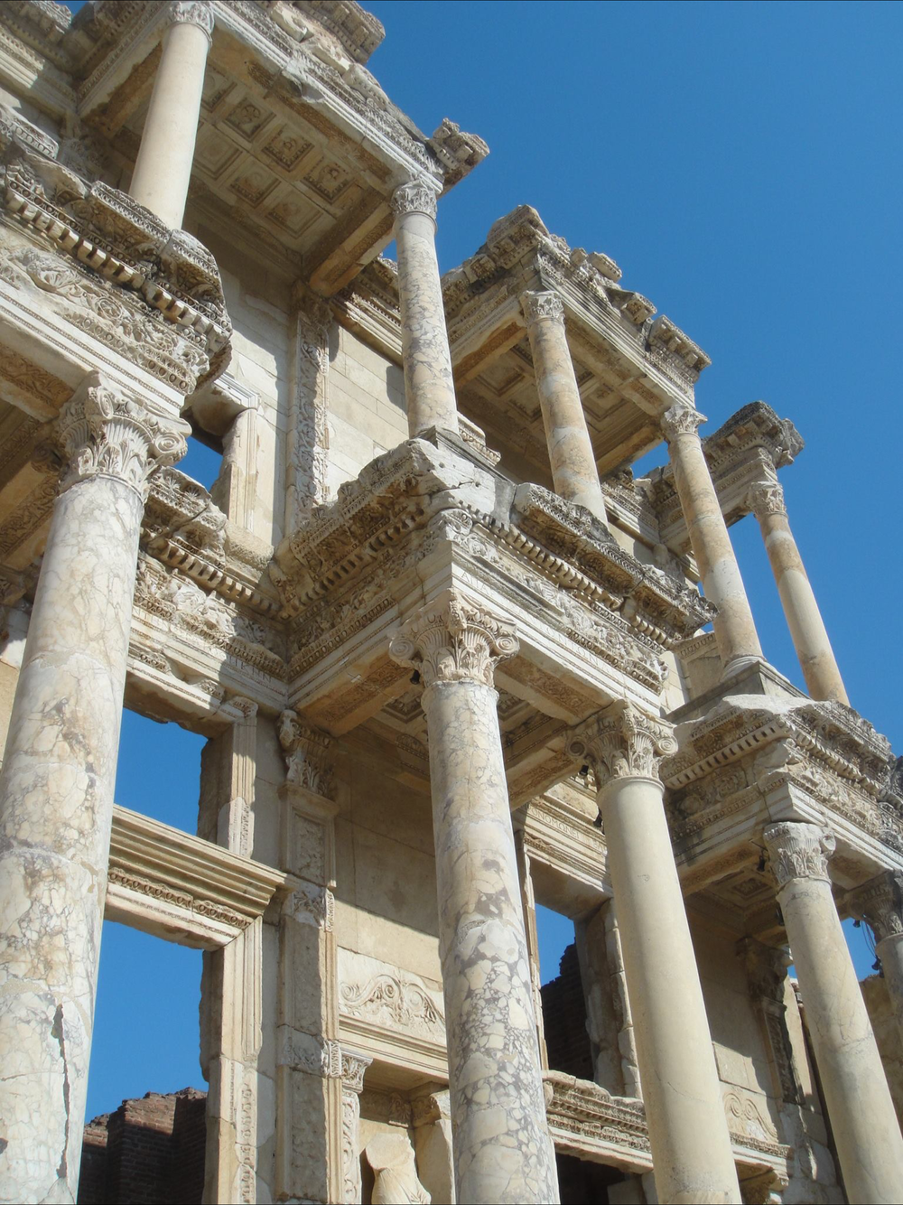 Detail at the Ephesus Library
