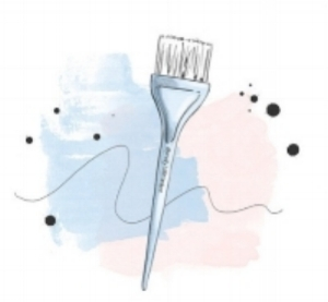 Paint brush by Jamie Sea @prettylittleombre