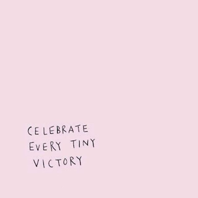 Seriously, celebrate your victories! Even the tiny ones, especially the tiny ones. I guarantee you have tiny wins everyday that you overlook. We tend to crave the big wins, and if we always look for those then we overlook tangible everyday tiny victories. The tiny empowers us to tackle the huge victories! 🖤 #saltyhairsalonobx #tinyvictories #smallwins #wisdom #patience #obx #outerbanks #salonlife