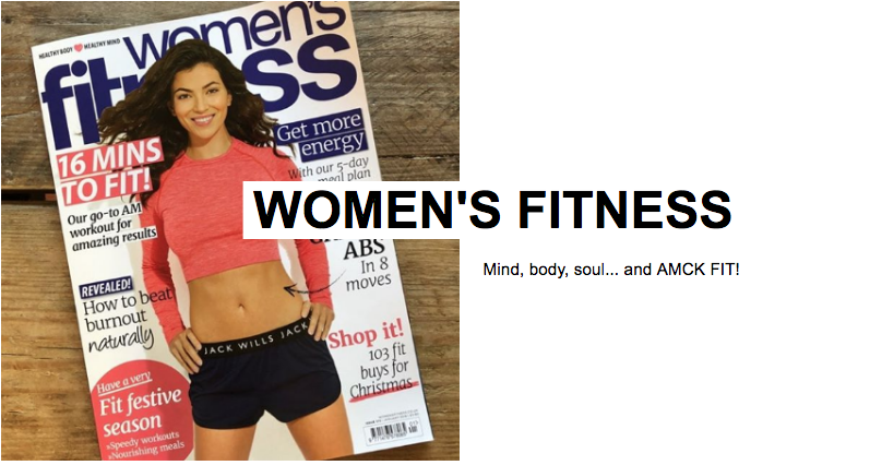 Head to our  news  for an exclusive sneak peek of what Aicha talked about to the Women's Fitness team!