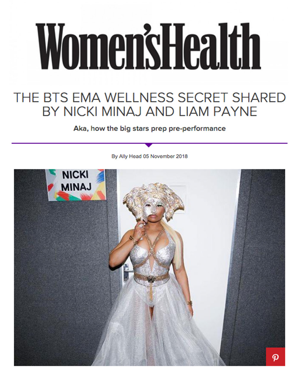 Head to our  news  section to read about AMCK FIT at the 2018 MTV EMA's in Bilbao