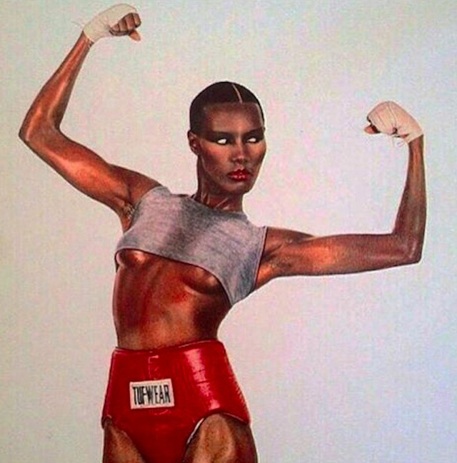 #GraceJones 🖤Achieving balance, clarity and stillness amidst chaos doesn't come through force and strain, but by being kind, soft and gentle with your body. Find the perfect balance in our bespoke #AuthenticallyFit sessions at amckfit.com/about 💫 . . . #AuthenticallyFit #tribe #wellness #model #bespoke #fitness #expert