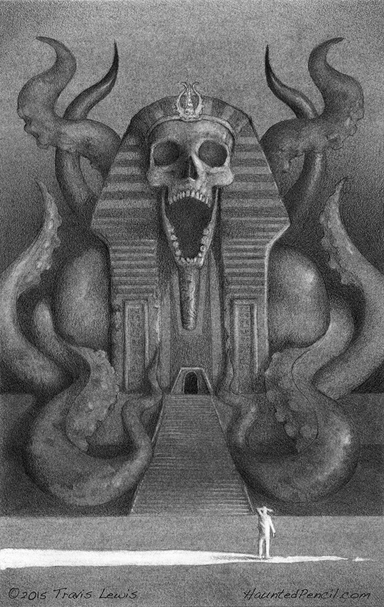 Discovering Nyarlathotep's Tomb