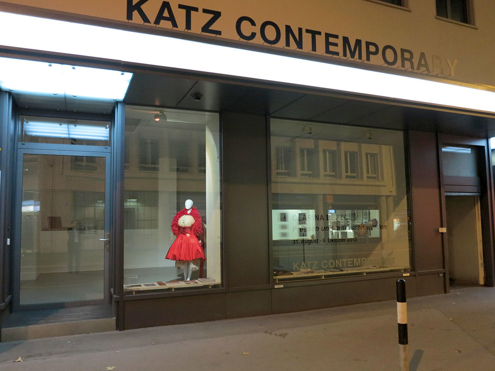 THE MUSETTA SCULPTURE DISPLAYED AT KATZ CONTEMPORARY GALLERY IN ZURICH