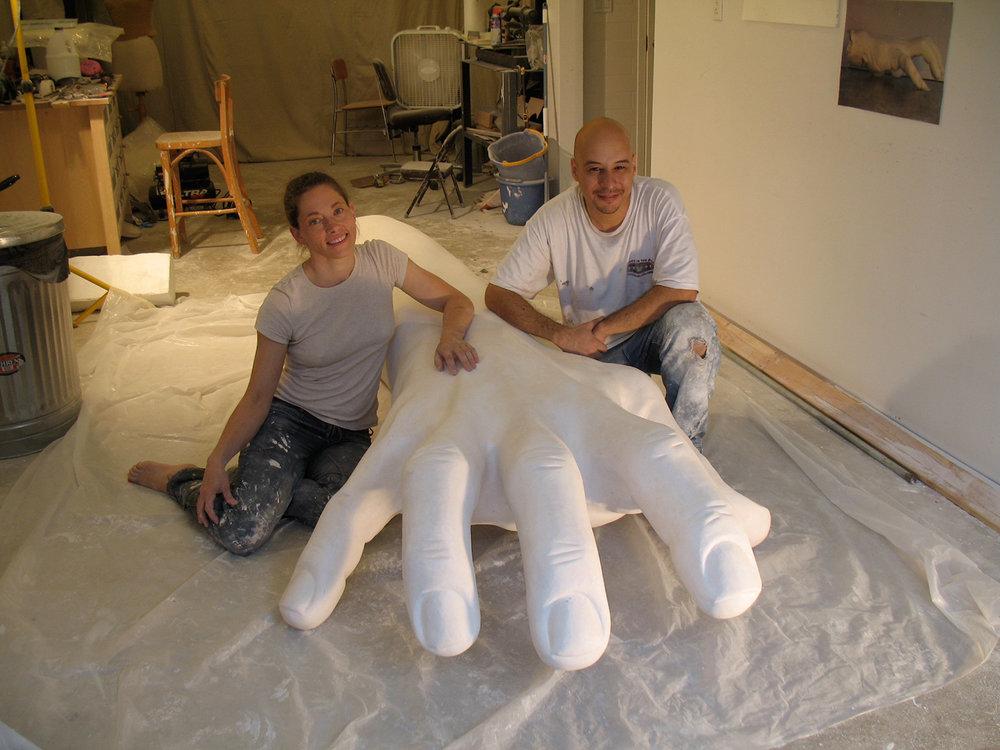 Makign Hand