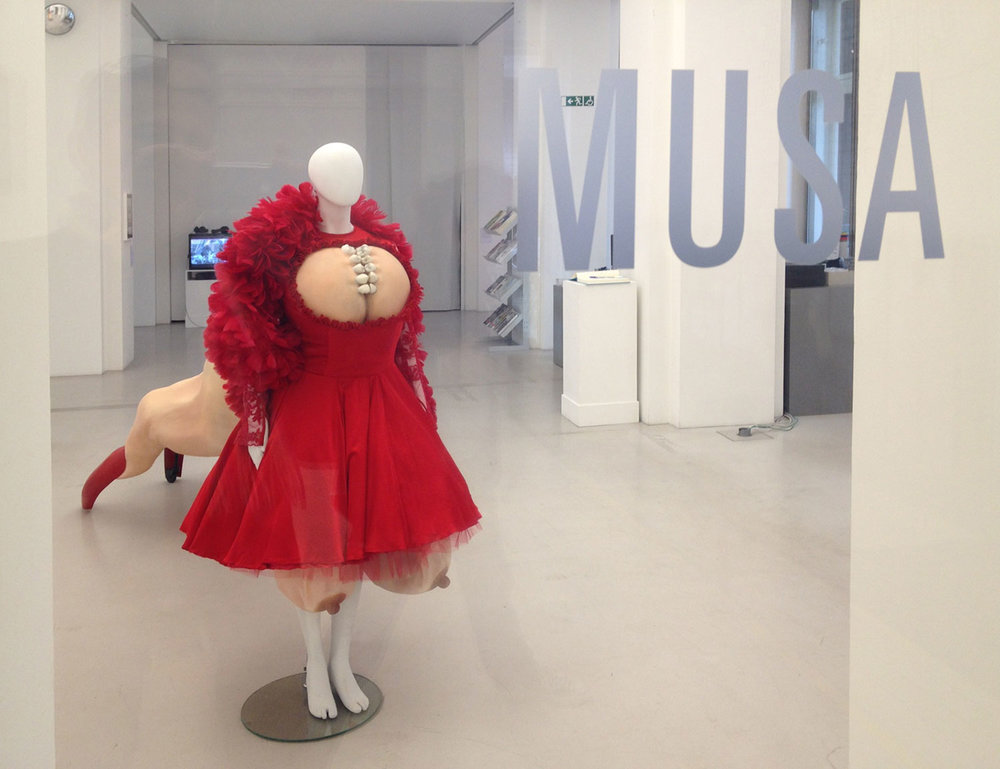 THE MUSETTA SCULPTURE EXHIBITED AT MUSA IN VIENNA