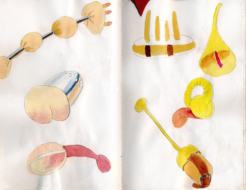 Sketchbook 16