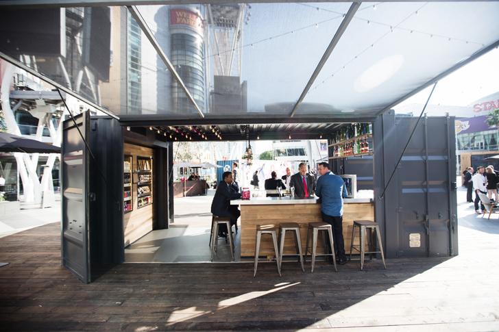 Sg Blocks Builds Bar And Hotel Room For Marriott S Moxy Sg Blocks