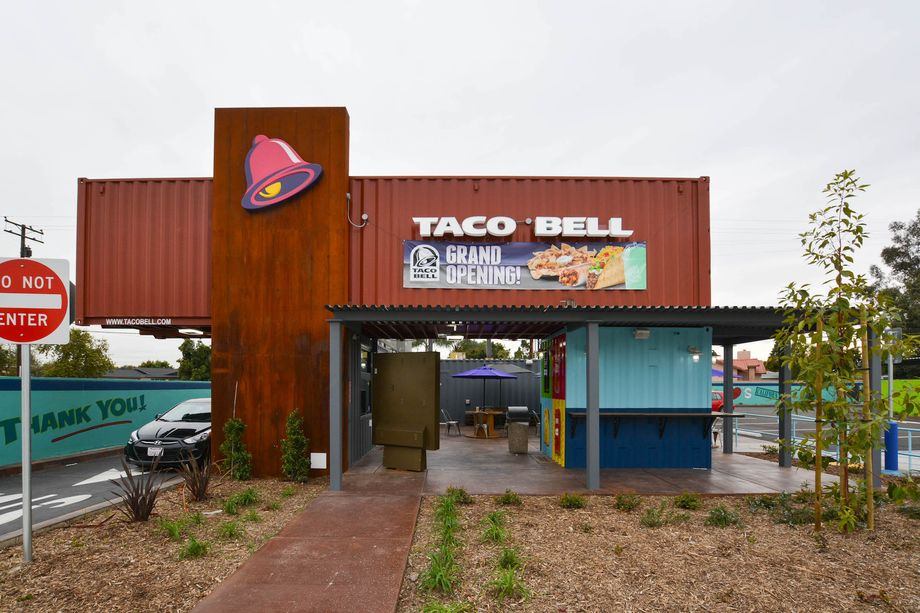 Taco Bells New Drive Thru Restaurant In La Sg Blocks