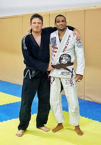 Congrats to Coach Jerome Roseborough promoted to Brown Belt!