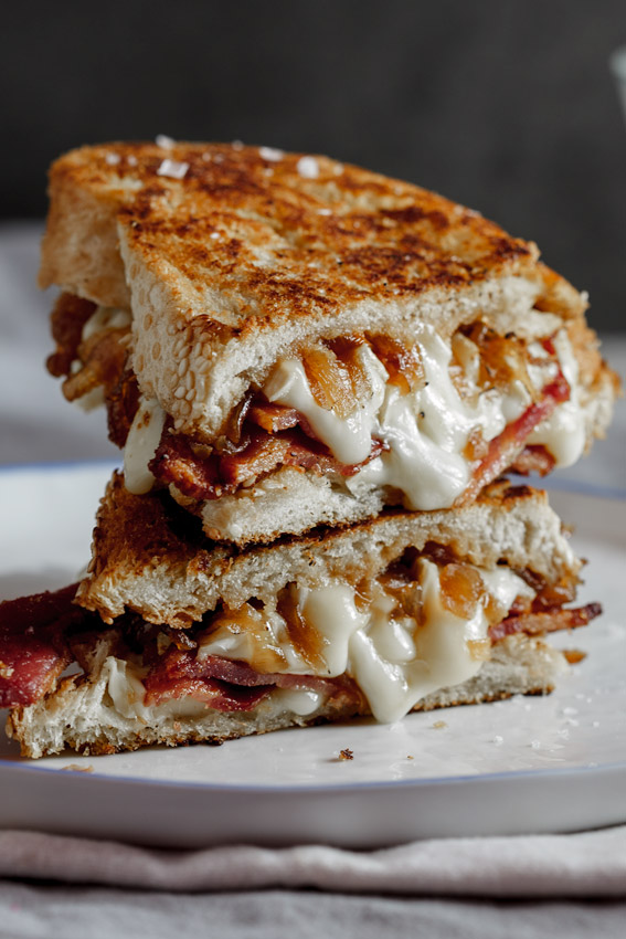 Bacon + Brie Griled Cheese