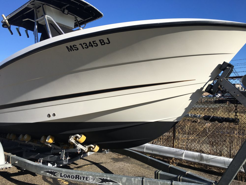Thanks again. The boat looks fantastic. I'm so happy with how it came out.   - Tim Arthur