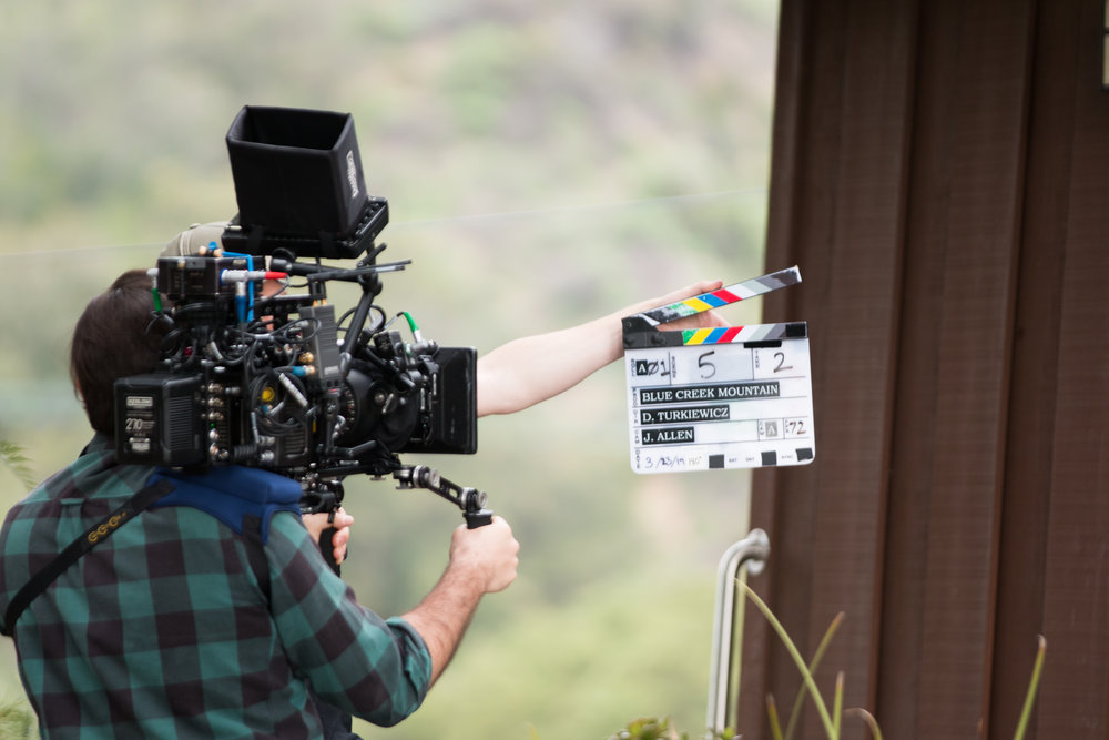 behind the scenes of  Blue Creek Mountain