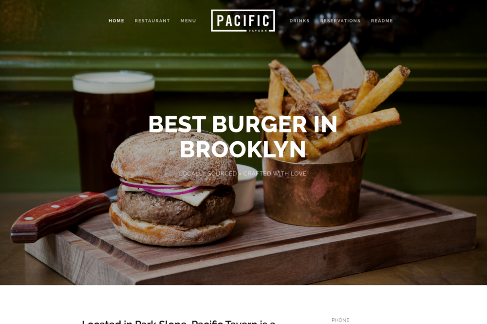 Pacific -  - Best For Bloggers, Service Providers, and Small Businesses