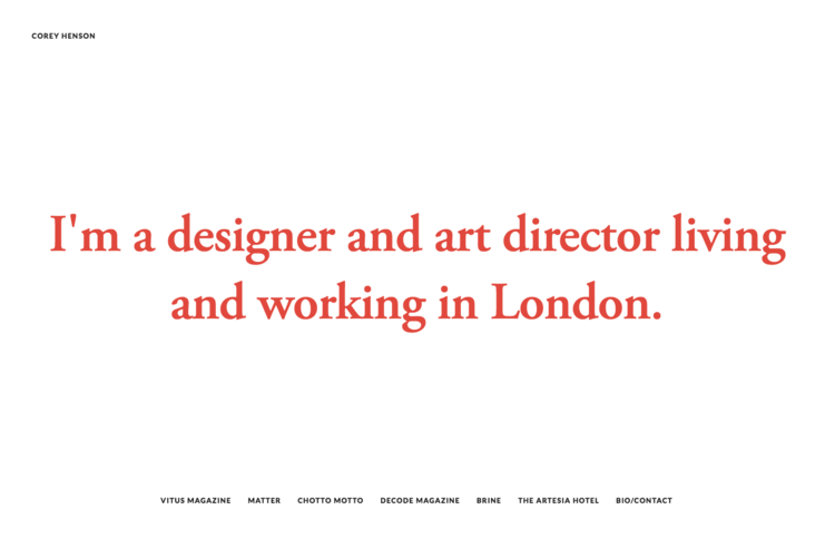 Henson - A Squarespace template for Graphic Designers, Artists, Online Stores, and Photographers