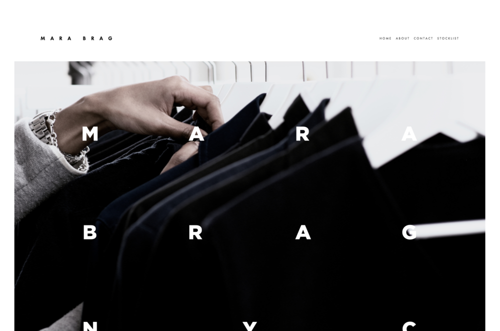 Mercer - A Squarespace template for online stores.