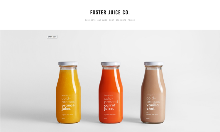 Foster - A Squarespace template for online stores.  - A Squarespace template for online stores.