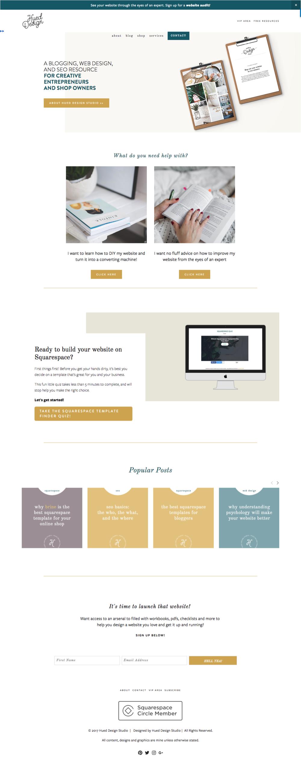 hueddesignstudio-squarespace-web-designer-homepage-design