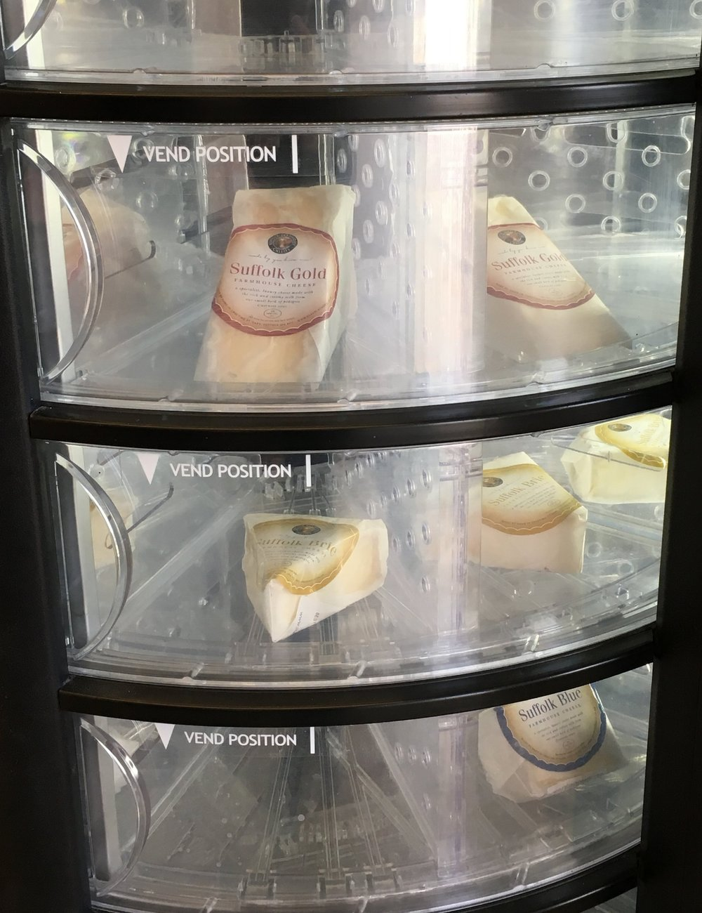 Suffolk Farmhouse cheeses in vending machine.JPG
