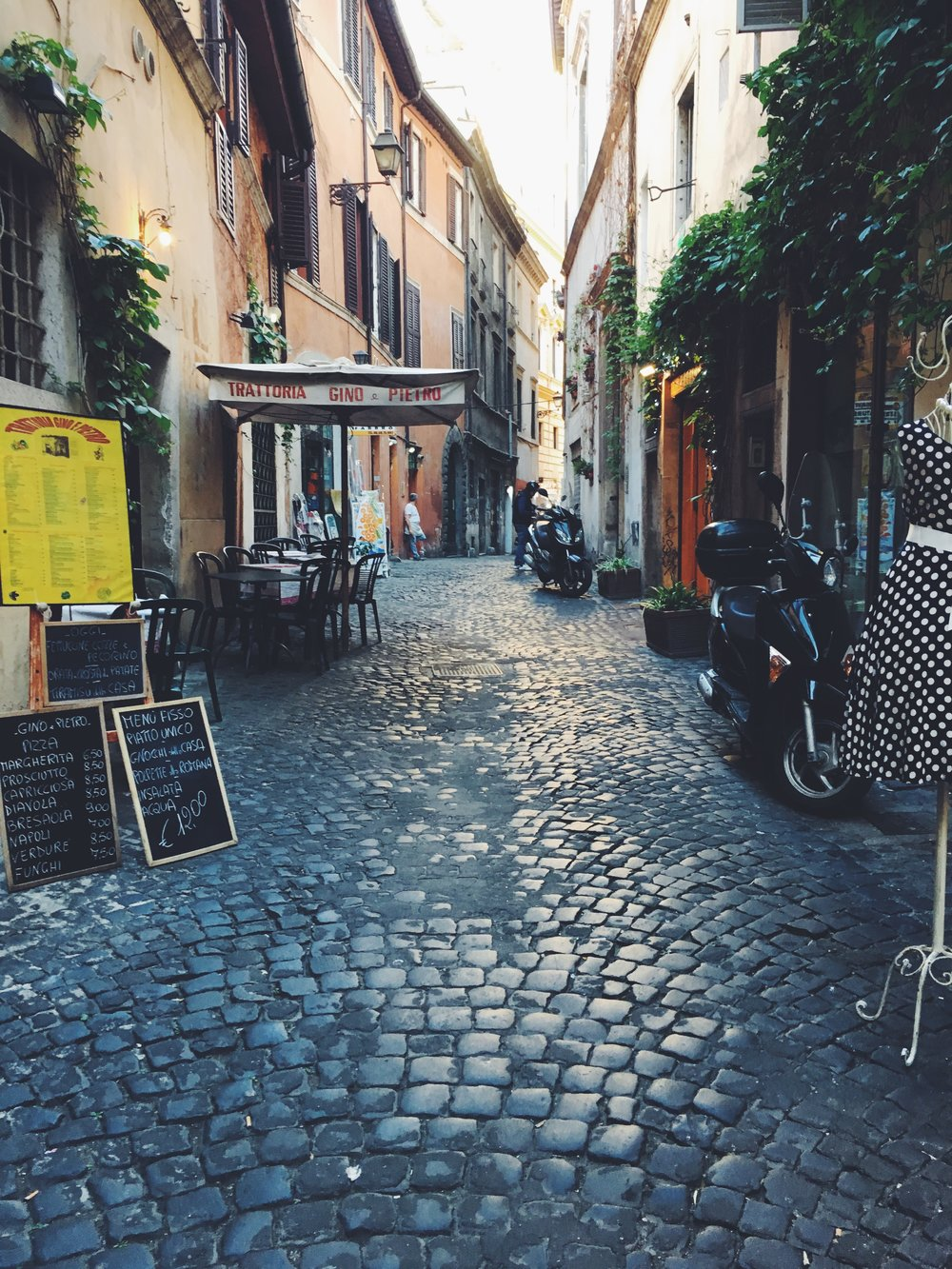 Classic Rome Streets