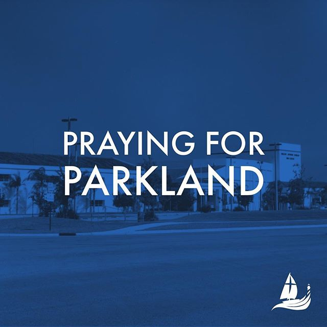 As we continue to hear reports on the shooting in Parkland, Florida, we ask that you would join with us in prayer. #PrayingforParkland