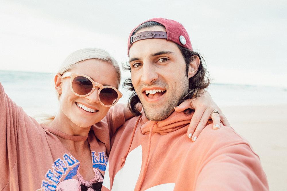 Brooke and Rhett Scheurn selfie