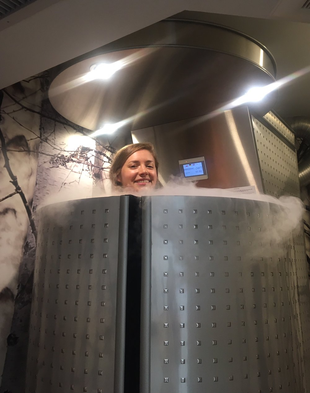 Provenance Meals - Sarah trying Cryotherapy at Cryofuel - 2.jpg