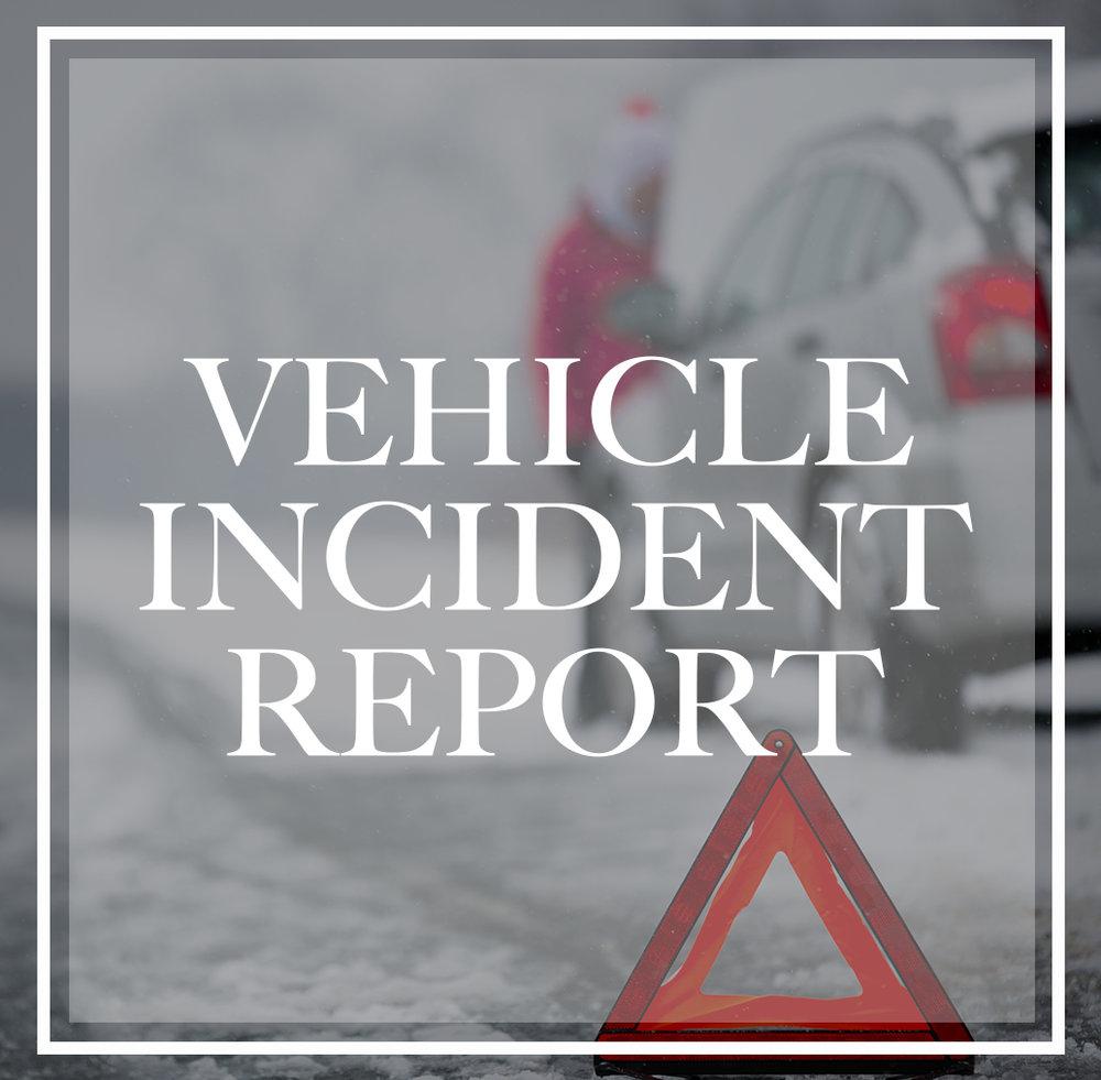 Vehicle Incident Report