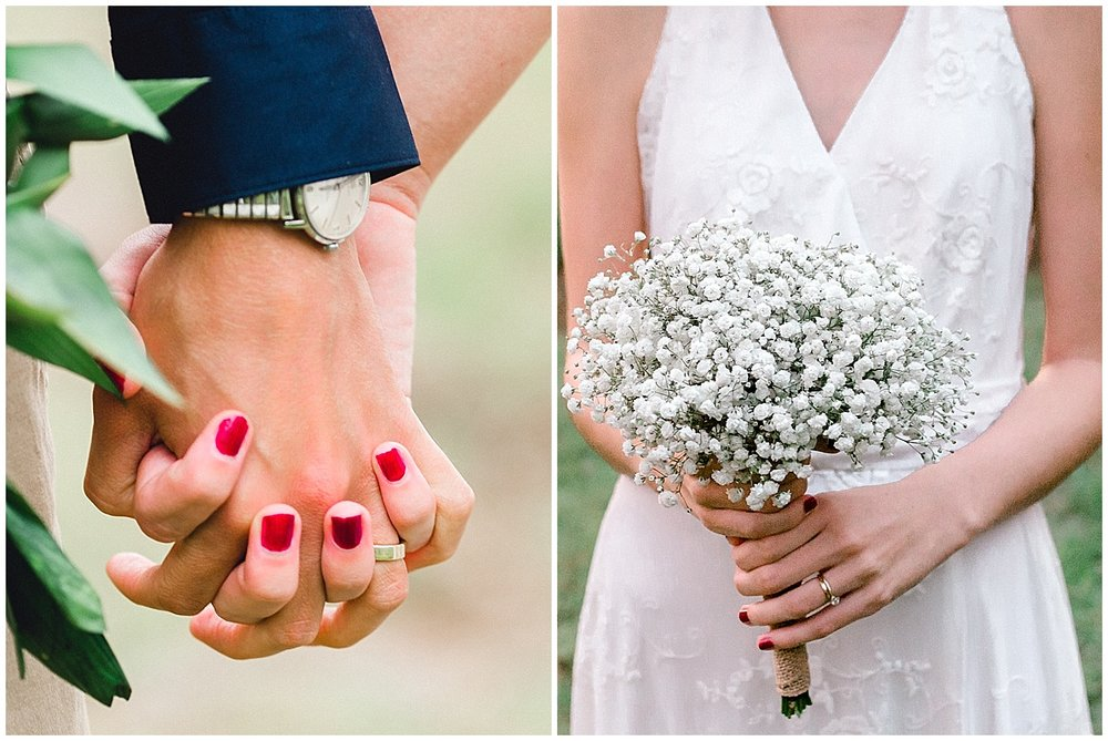 Maui Wedding Details, Wedding Rings and Bouquet