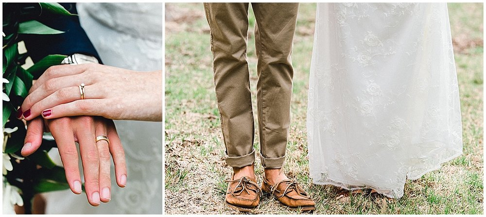 Maui Wedding Details, Wedding Rings and Shoes