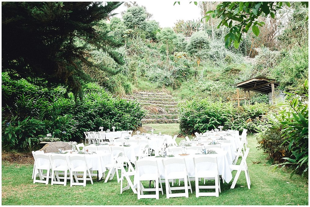 Maui UpCountry wedding reception venue