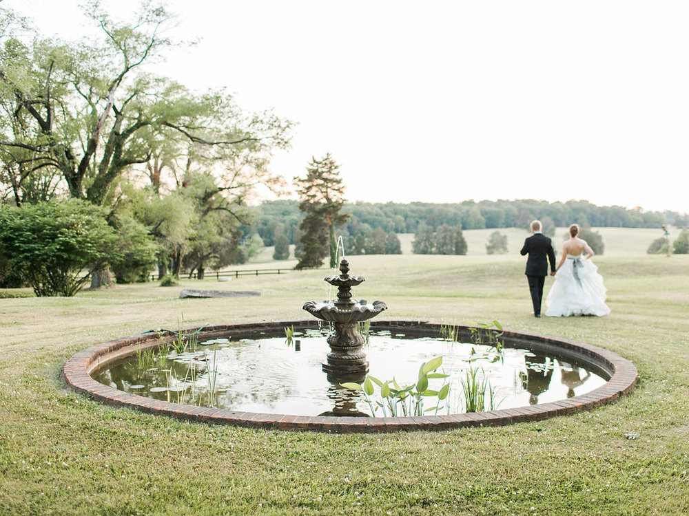 Virginia Spring Wedding Private Estate