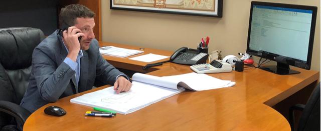 Tim Spiegelglass, Vice President, Spiegelglass Construction Company