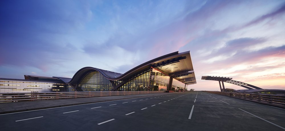 Hamad International Airport passenger terminal – Doha, Qatar.  Photo by Airchive.com