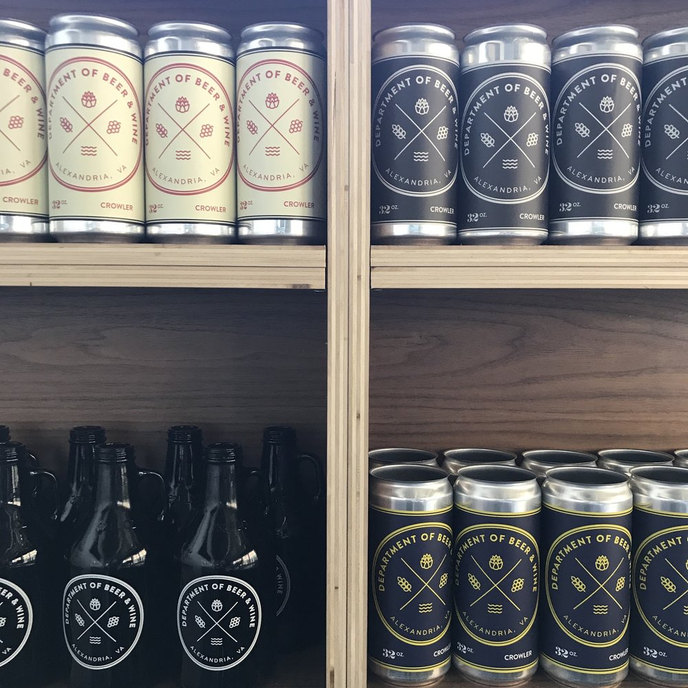 crowler cans and bottles.JPG
