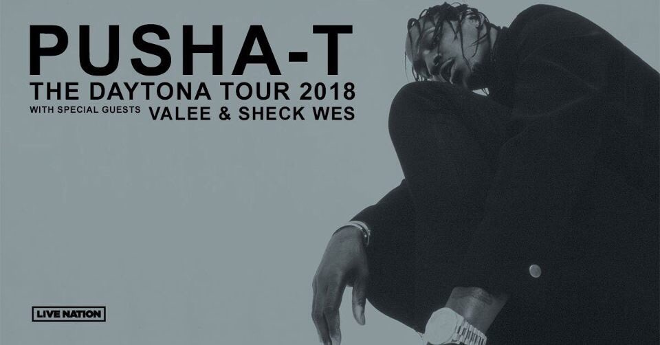 Pusha T Daytona Tour