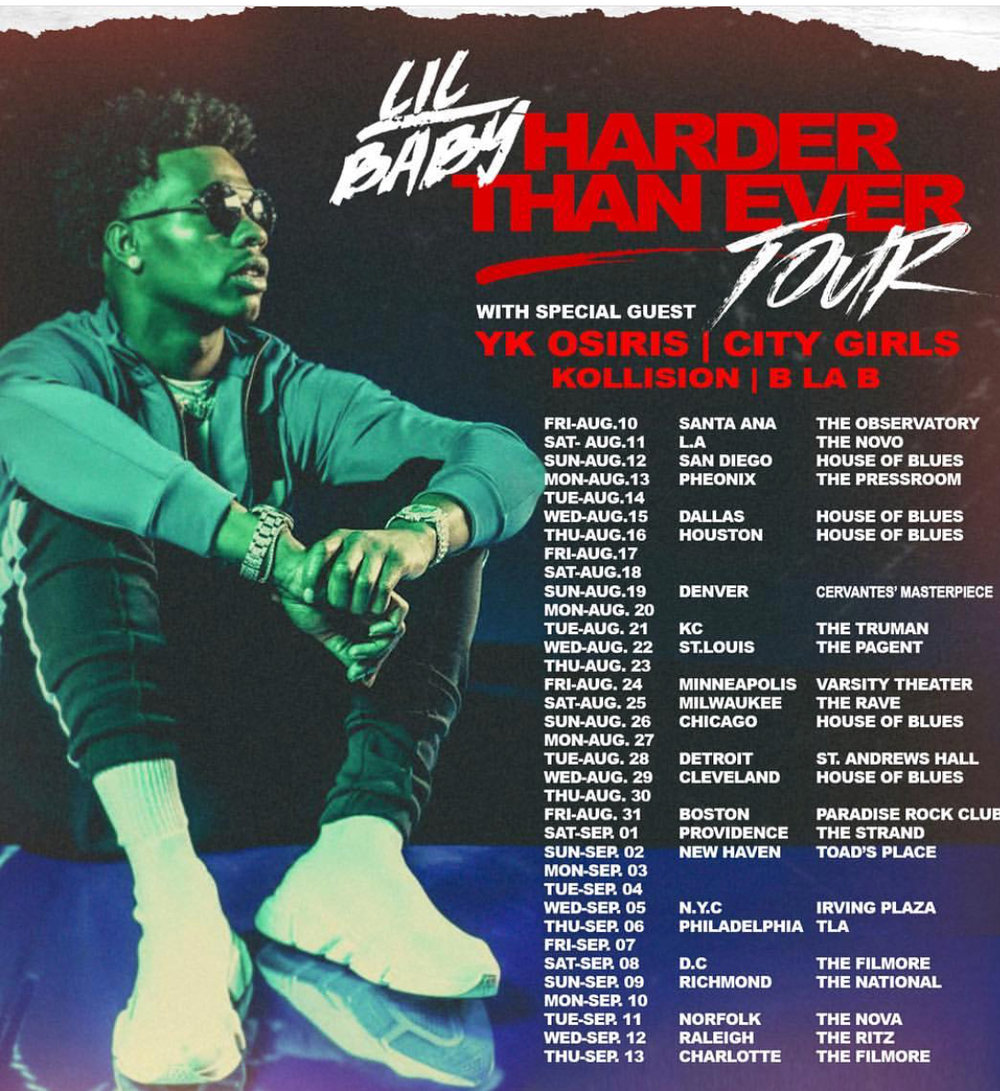 Lil Baby Tour