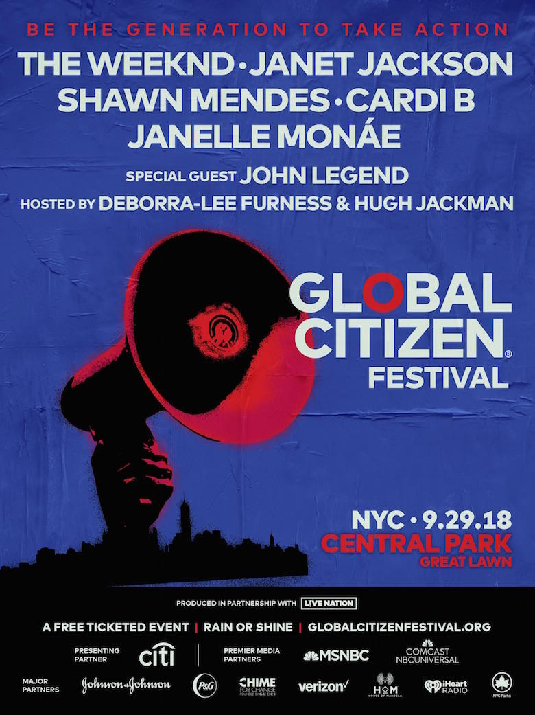 Global Citizen Festival NYC