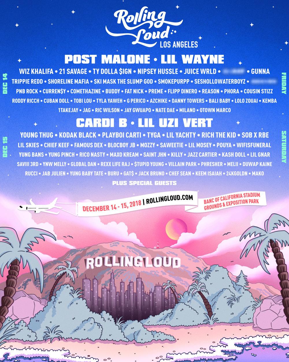 Rolling Loud LA 2018