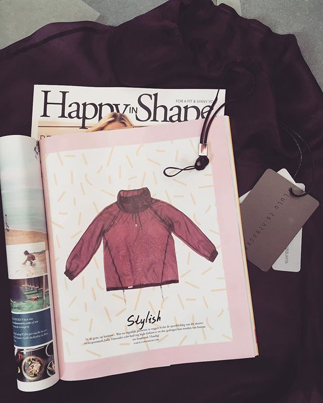 We are proud to announce that we have been featured by one of the best magazines in the country! Thanks 🙏 @happyinshape 💜#lulutsintsadze #stylish #athleisure #inthepress