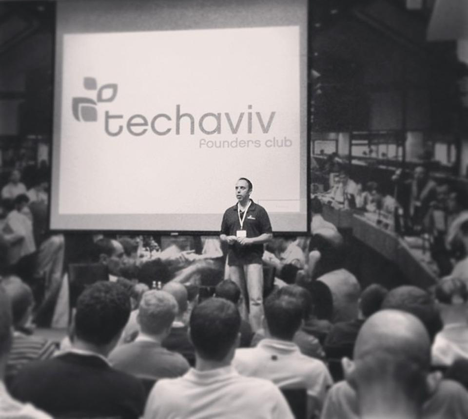 TechAviv founder and organizer  Yaron Samid .