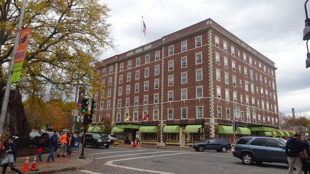 The iconic Hawthorne Hotel