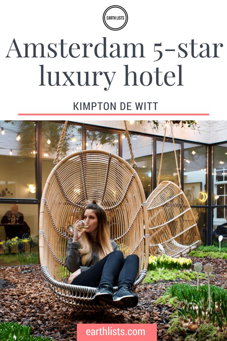 Amsterdam luxury hotel - Kimpton de Witt