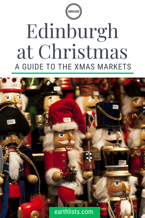Edinburgh Christmas Market Guide