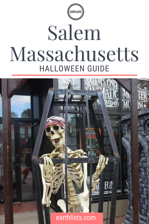 Salem Massachusetts at Halloween