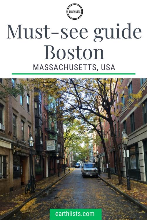Boston Massachusetts Travel Guide