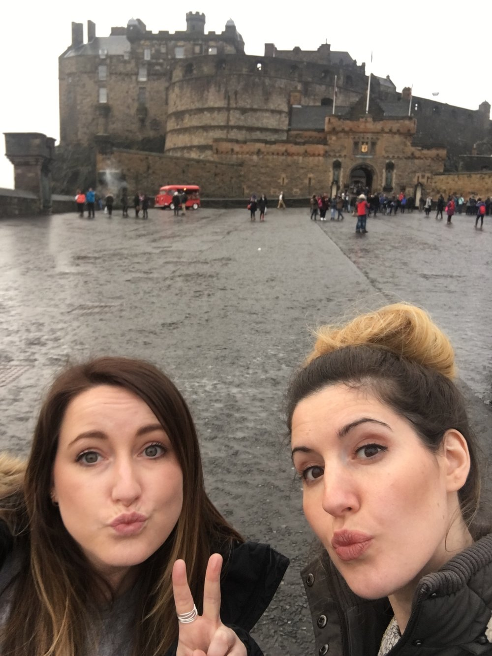 2 days in Edinburgh Castle