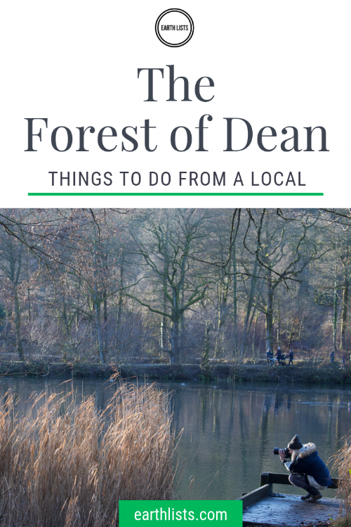 Forest of dean things to do pin