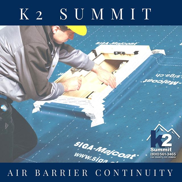 Do you have cracks or gaps in your building's envelope? This can generate problems with uncontrolled air flow. Issues include infiltration of moisture, mold growth, energy inefficiencies, bug infestations, and allergies. All of these reduce your building's indoor air quality. But don't worry! Our team here at K2theSummit can help you survey your building in order to identify air leakage. We will work to reestablish your air barrier and prevent future issues. Need our help? Visit our website, https://www.k2thesummit.com/. Or, give us a call at (800) 561-3465.  #k2summit #k2thesummit #roofing #roofinglife #construction #rooftop #contractor #remodeling #remodel #renovation #constructionwork #roofconstruction #generalcontracting #industrialroofing #commercialroofing #airquality #airbarriers #barrier #airbarriercontinuity #cleanair #safeair #breathe #indoors #indoorairquality #airflow #controlingairflow #health #safety #restoration
